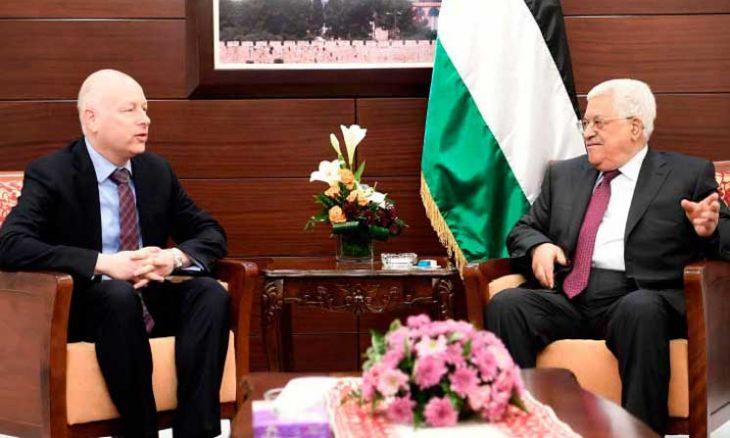 المبعوث الأمريكي للشرق الأوسط  لا نسعى لإسقاط عباس