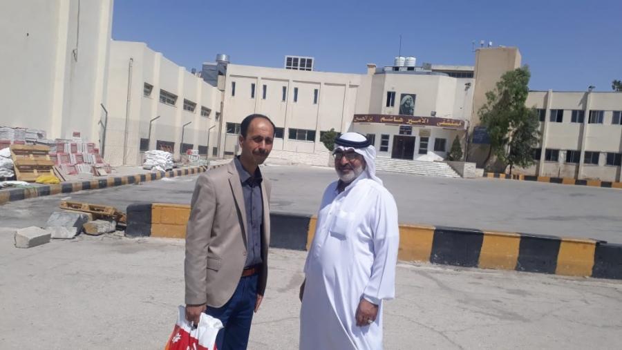 الزرقاء  المتقاعدين العسكريين في زيارة خاصة لزملائهم المرضى في مستشفى الأمير هاشم صور