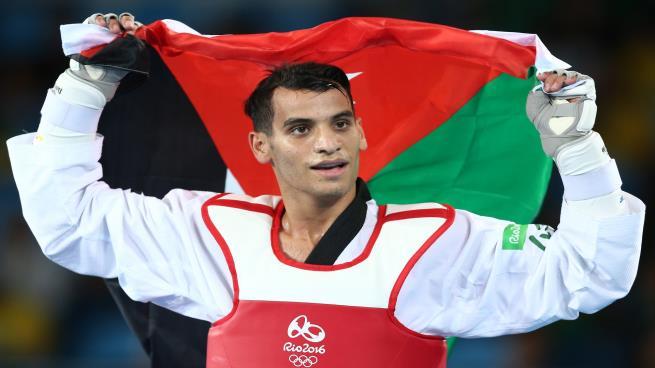 أبو غوش من مخيم النصر الى أولمبياد ريو دي جانيرو ومسيرة الذهب