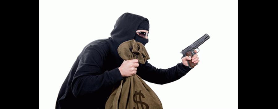 سطو مسلح على محل صرافة