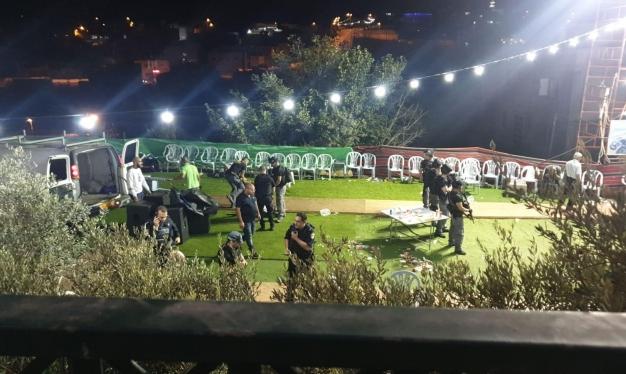 حيفا مقتل شاب وفتاة في حفل زفاف