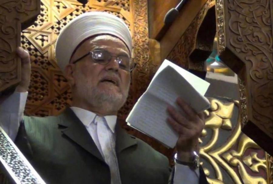 خطيب الأقصى الشيخ عكرمة  يتهم المخابرات ومحامين أردنيين بالخيانة العظمى