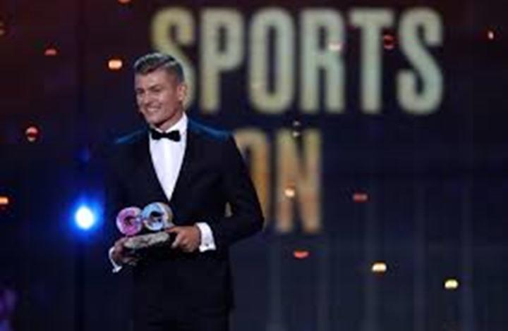 كروس يُتوج بجائزة لاعب العام في ألمانيا