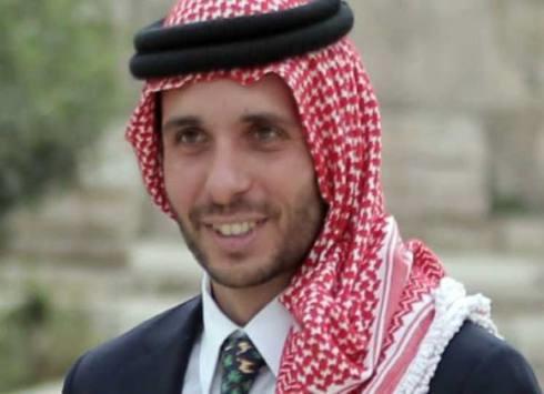 الأمير حمزة يرزق بـ حسين
