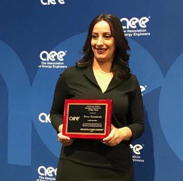 أردنية تفوز بجائزة أميركية بالطاقة