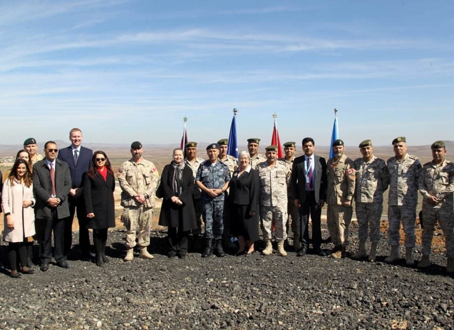 افتتاح مشروع إعادة تأهيل الأبراج الحدودية بالمنطقة العسكرية الشرقية
