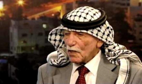 وفاة المناضل الأردني ضافي الجمعاني