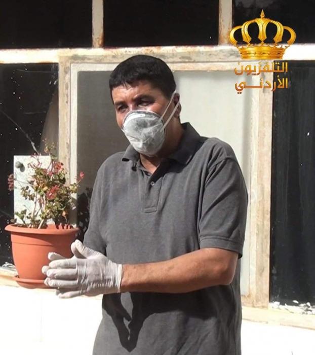 سائق الشاحنة في الخناصري  خالد الرواشدة يتماثل بالشفاء ويحجر صحيا في منزله