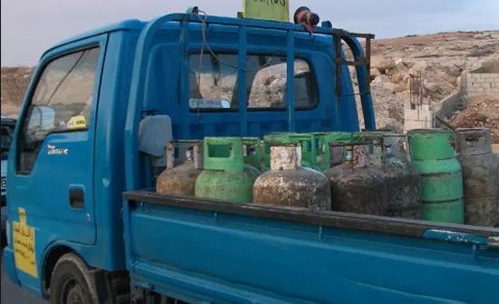 السماح لمركبات بيع الغاز المنزلي بالعمل السبت والاحد