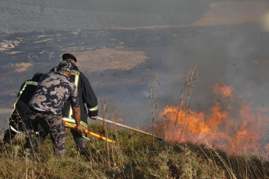 خلال الـ 24 ساعة الماضية الدفاع المدني يتعامل مع  5984 حالة اسعافيه  و 342 حريق أعشاب جافة وأشجار حرجية ومثمرة