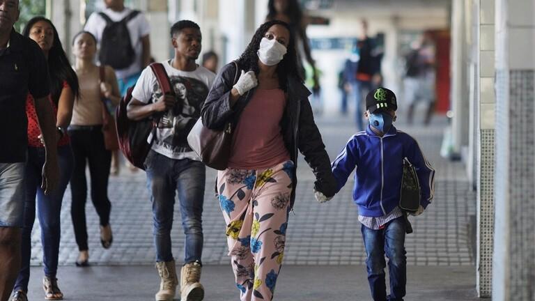 38 ألف إصابة جديدة بكورونا في البرازيل