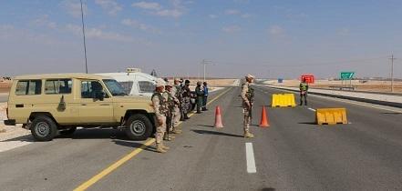 الجيش يواصل تنفيذ خطة فرض الحظر الشامل