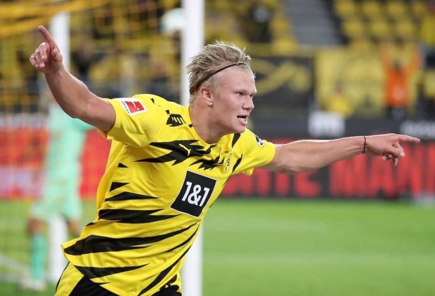 هالاند النرويجي يفوز بجائزة الفتى الذهبي للعام الحالي