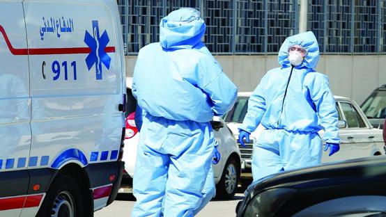 1030 إصابة و8 حالات وفاة بكورونا