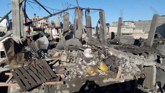 6 إصابة بانفجار غامض شمال غزة