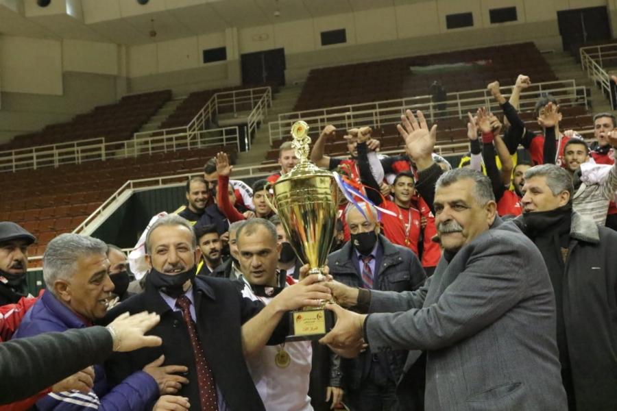 العربي يتغلب على الأهلي ويظفر بدوري كرة اليد