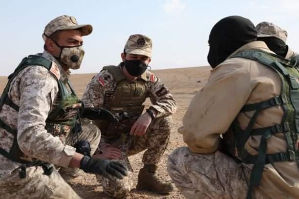 كتيبة الأمير الحسين بن عبدالله الثاني الآلية١ الملكية أم الجيش تنفذ تمريناً تعبوياً عسكرياً