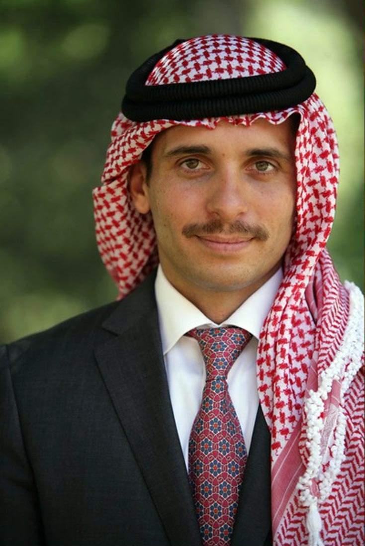 الأمير حمزة  أضع نفسي بين يدي جلالة الملك