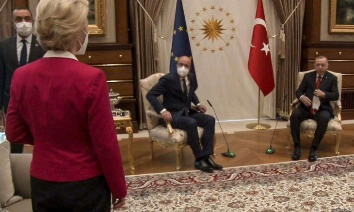 جدل في بروكسل عقب تعرّض أورسولا فون دير لايين لإهانة في أنقرة