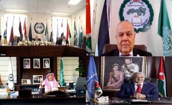 رئيس جامعة عمان الأهلية يترأس لجنة العضوية لاتحاد الجامعات العربية