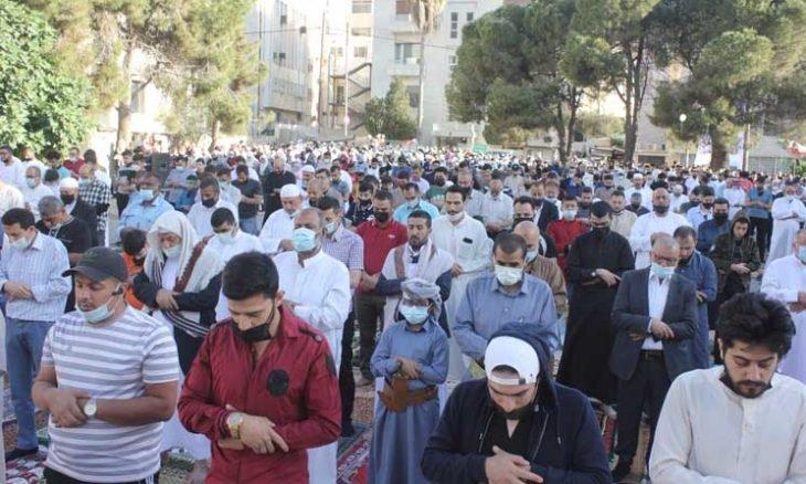 """""""عيدنا نصرة للأقصى"""" رسالة من الأردن إلى فلسطين"""