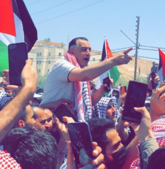 مسيرة الكرامة نتاج تناغم الموقف الرسمي والشعبي والتجاوز من أصحاب الأجندات لا يخدم الفلسطينيين وقضيتهم