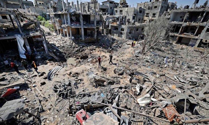 لليوم الخامس على التوالي  قصف إسرائيلي عنيف على قطاع غزة