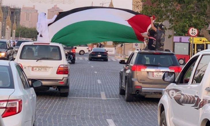 قطرالتلفزيون يلغي عرض الجلسات الغنائية تضامناً مع الشعب الفلسطيني