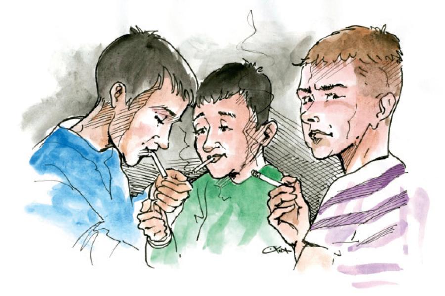 أطفال يفرون من عقوبة التدخين ليقعوا في مصيدة هتك العرض