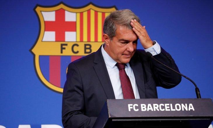 بعد ميسي برشلونة يخسر عملاق الرعاة