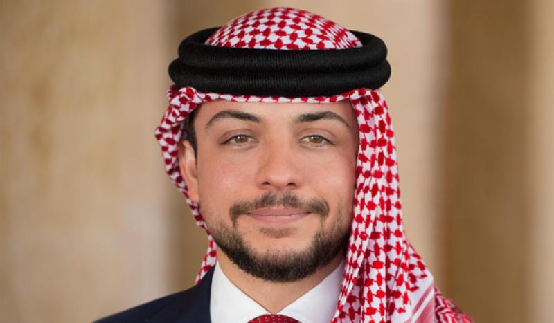الديوان الملكي الهاشمي  إصابة ولي العهد الأمير الحسين بن عبدالله الثاني بفايروس كورونا