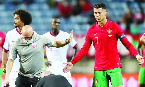 طبيب أردني يحتد على رونالدو